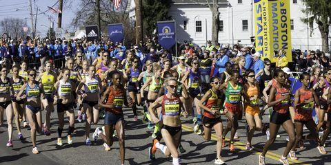 women's boston marathon start 2014