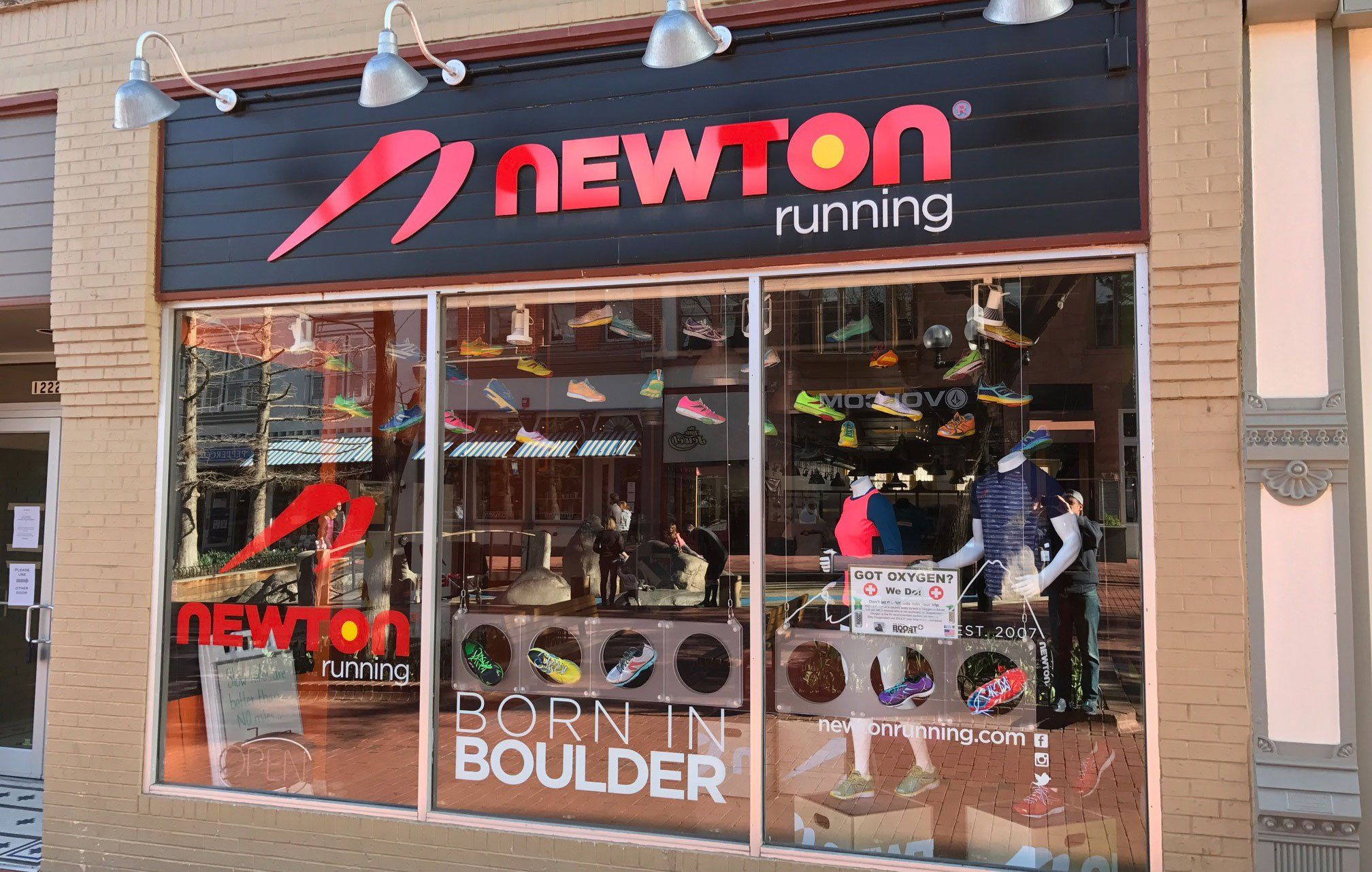 Newton Running Reorganizes Without Its Original Visionary