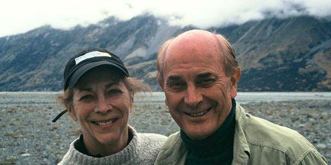 Kathrine Switzer and Roger Robinson