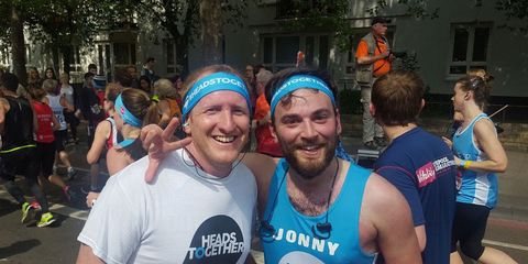 Heads Together london Marathon