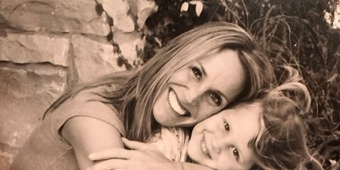 Kristin and her daughter, Grace