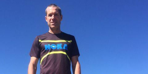 MAckey Makes his return to running