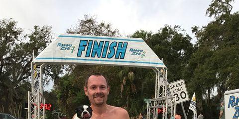 boston terrier who loves to run