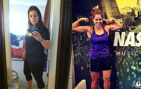 How Running Helped This 31-Year-Old Coach Lose 70 Pounds