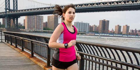 Heather runs a 5K