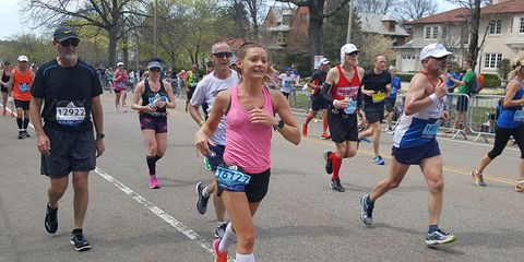 Abby racing