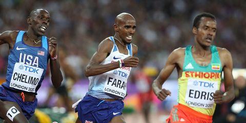 Mo Farah Men's 5,000
