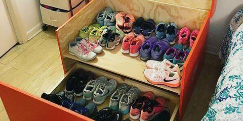 Marie Kondo Running Shoes
