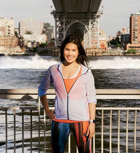 Betty Wong Ortiz runner