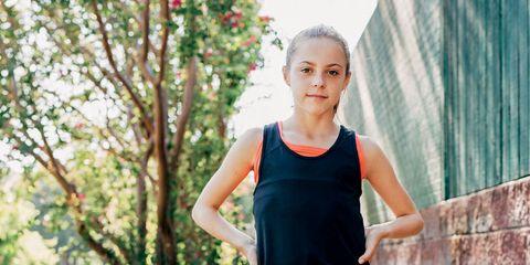 Camille Napier teen runner