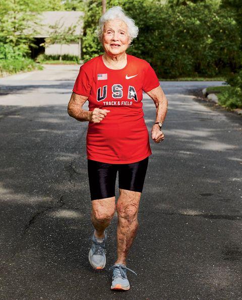 101 year old runner
