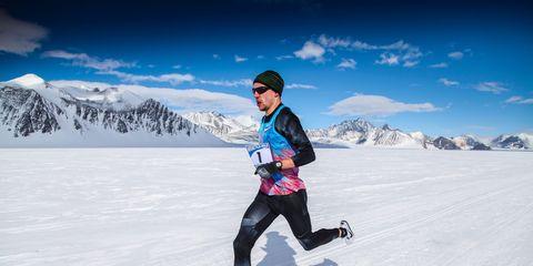 Antarctica Mile