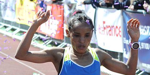 Zenash Gezmu wins Marathon de Senart