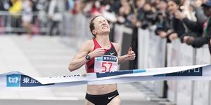 Amy Cragg is third at the 2018 Tokyo Marathon
