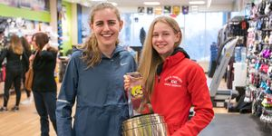 Mary Cain and Katelyn Tuohy