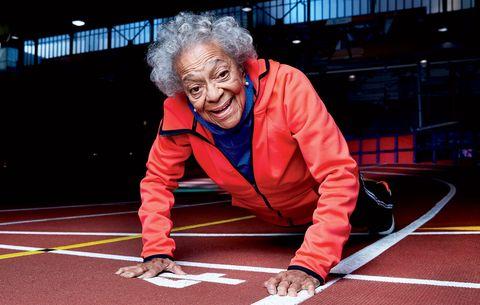 Ida Keeling runner