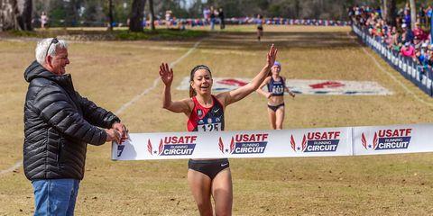 Emily Infeld wins 2018 USATF cross country championships
