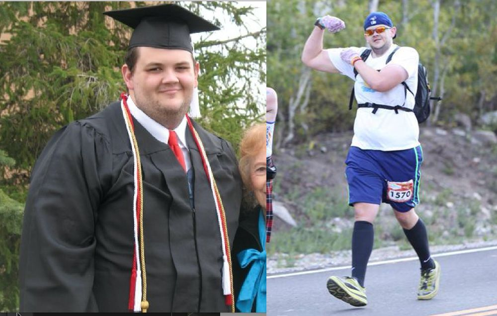 Running Helped This Utah Man Lose Nearly 200 Pounds