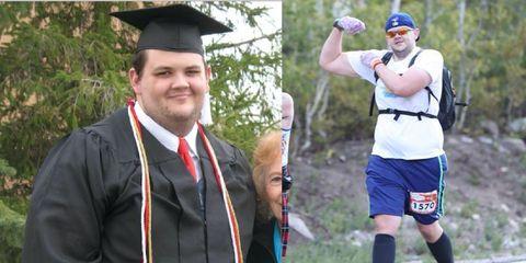 utah man weight loss transformation