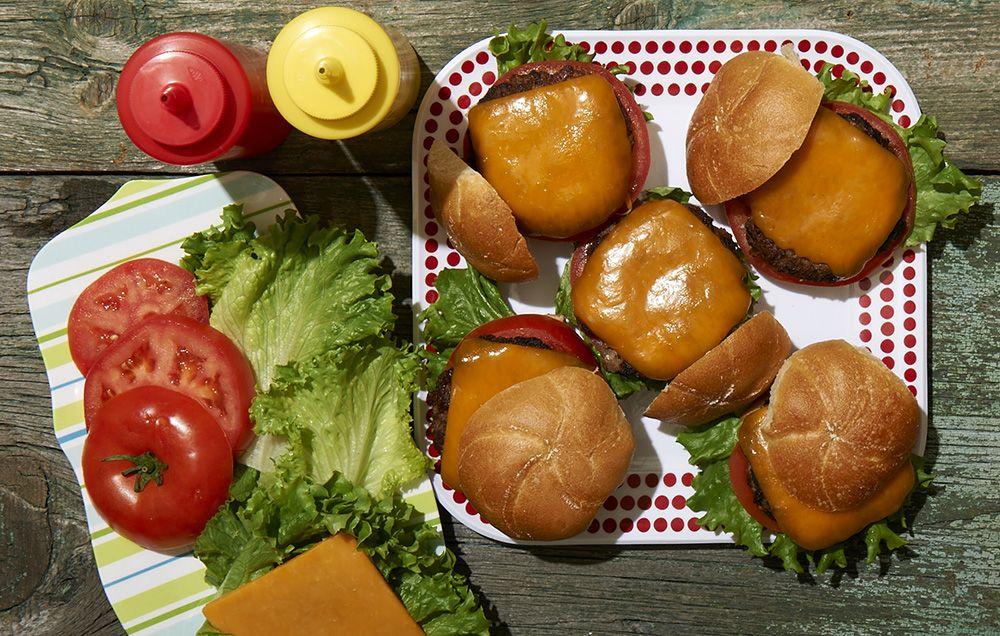 boston lager bacon burger
