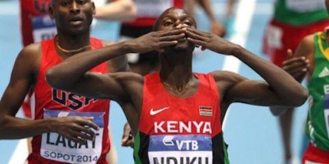 Caleb Ndiku Running Times Runnner of the Year 2014