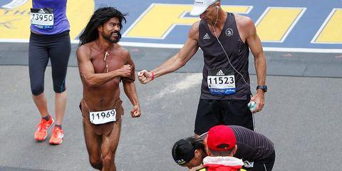 Glen Raines Barefoot Caveman Runner