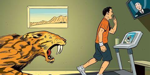 The Caveman at the Gym