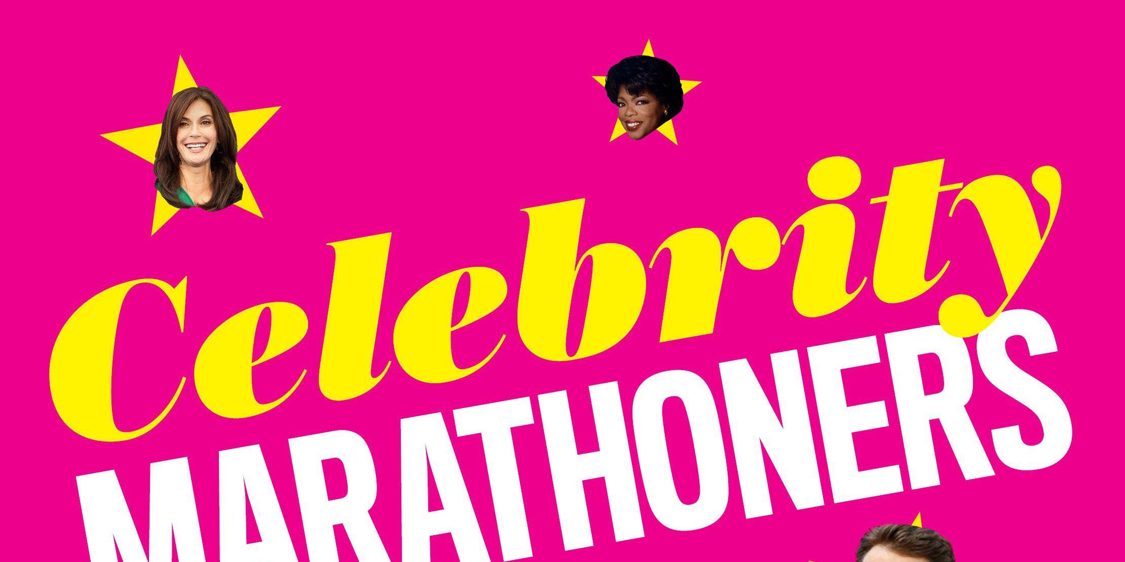 Celebrity Marathoners intro pic