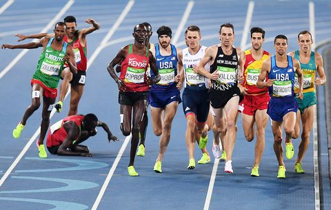 Matthew Centrowitz at the Rio Olympics