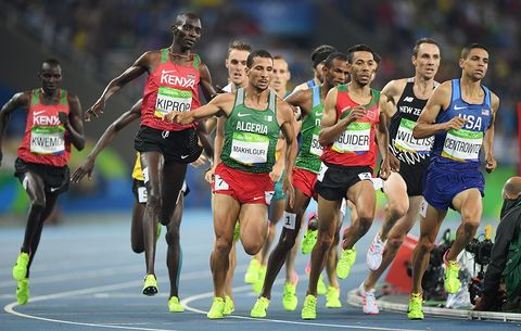 Matthew Centrowitz in the Rio Olympics