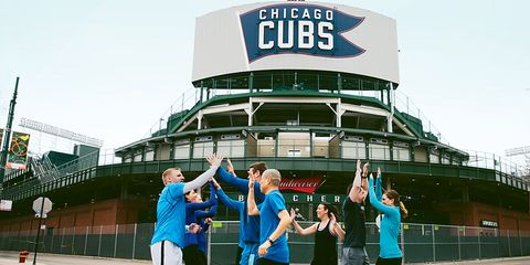 Chicago Cubs front office running