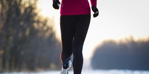 cold weather runner