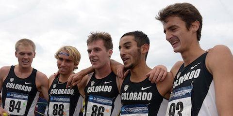 2014 NCAA Cross Country Champs, Colorado Men