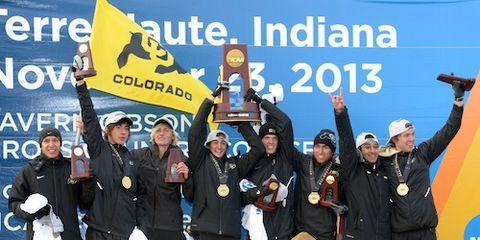 Colorado Cross Country 2013 NCAA Champs