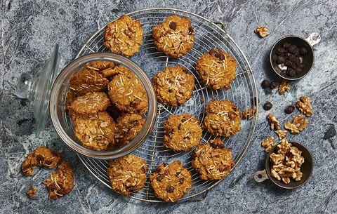 pumpkin coconut breakfast cookies