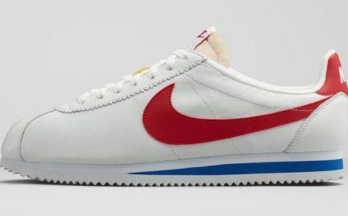 Classic Nike Cortez Shoe Making a