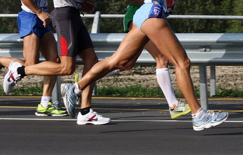 5 post race standing stretches every runner should do runner s world