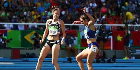 Abbey D'Agostino at the Olympics