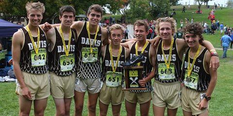 Davis Boys Cross Country 2014