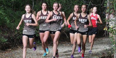 Davis Girls Cross Country 2014