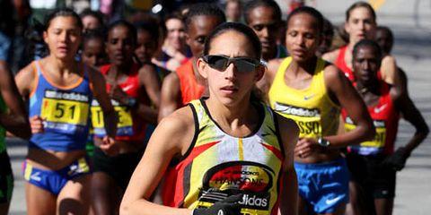 Desiree Linden 2011 Boston Marathon