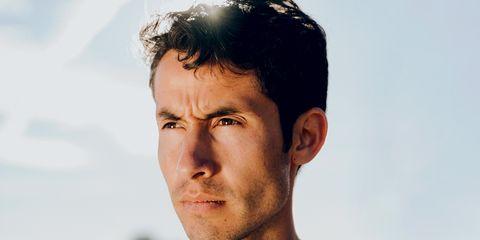 Olympic runner Diego Estrada