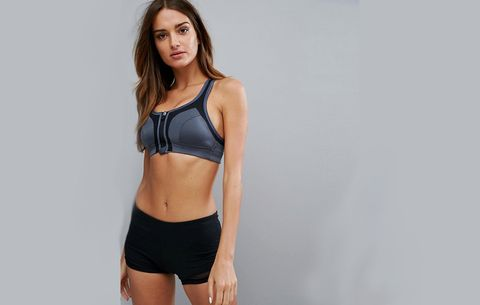 c7cd5f063a Front Zip Sports Bras that Are Easy to Take Off