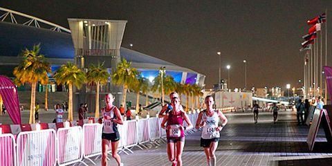 Emily Harrison 50k world championships in Doha