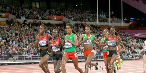 Women's 10,000-meter final at the 2012 Olympics