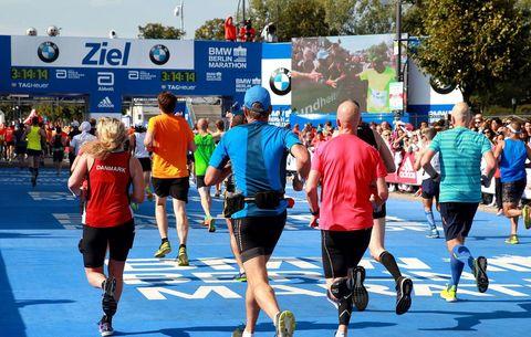 Berlin Marathon finishers