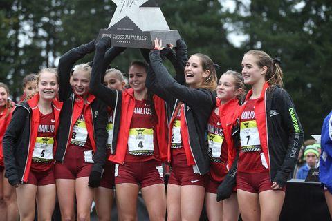 Daughter of Boston Marathon Champion Wins NXN