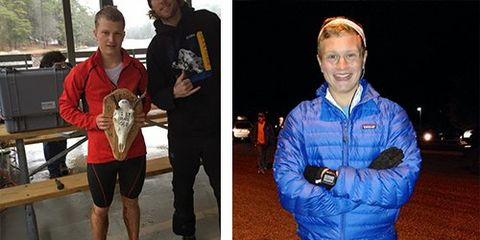 Andrew Miller and Ford Smith, Trail Runners