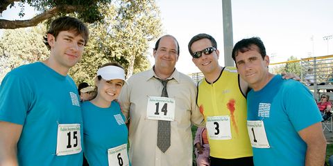 The Office actors at a 5K