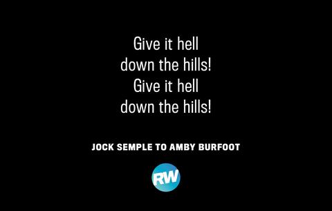 Boston Marathon Motivational Quote hills